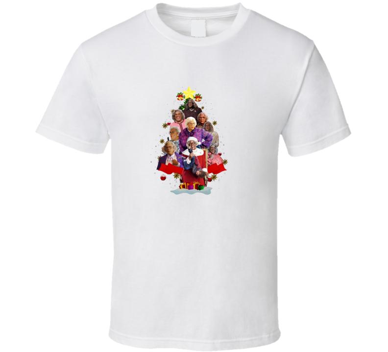 Madea Christmas Tree T Shirt