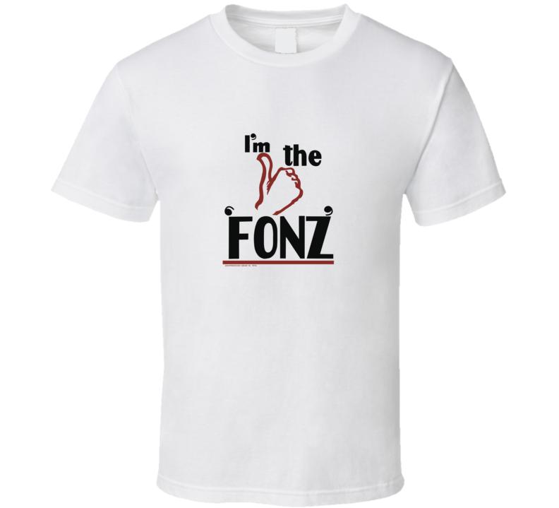 Vintage Happy Days Im The Fonz T Shirt