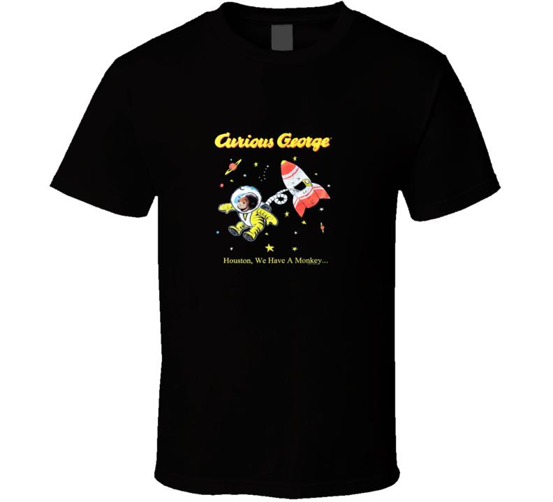 Vintage Curious George  T Shirt