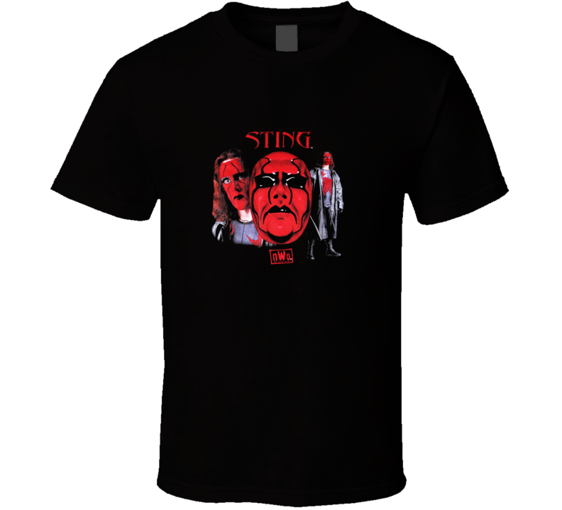 Vintage Wcw Nwo Wolfpac Sting  T Shirt