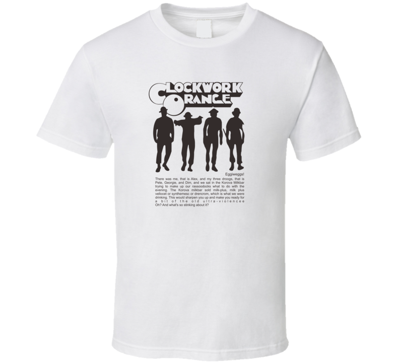 Clockwork Orange Vintage T Shirt