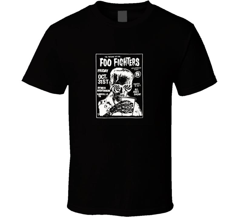 Foo Fighters Halloween T Shirt