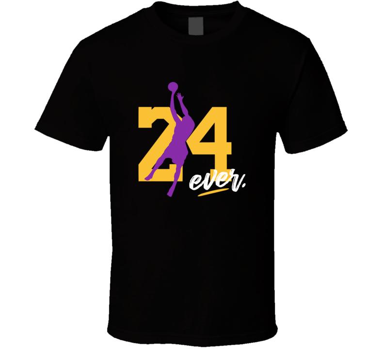 Rip Kobe Bryant 24 Forever T Shirt