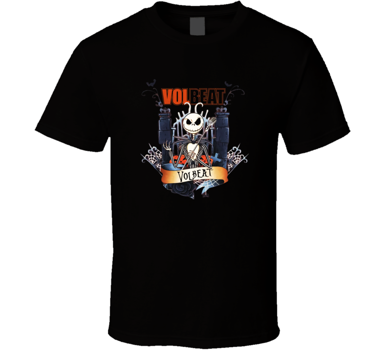 Vol Beat Skellington Halloween T Shirt