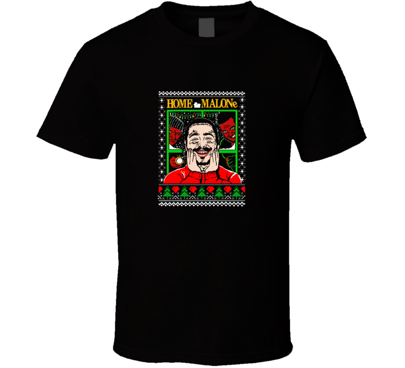 Postmalone Home Alone Christmas  T Shirt