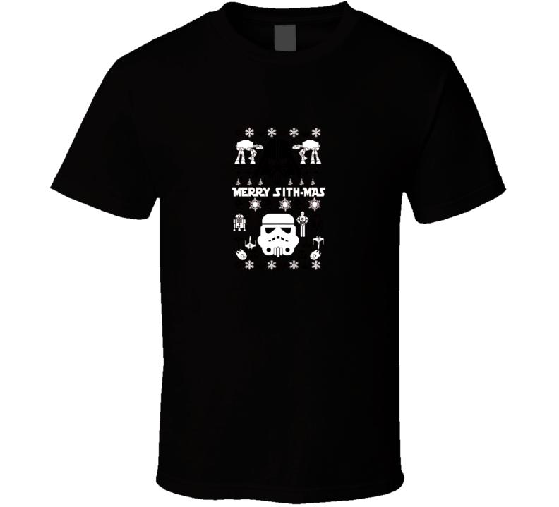 Star Wars Ugly Christmas  T Shirt