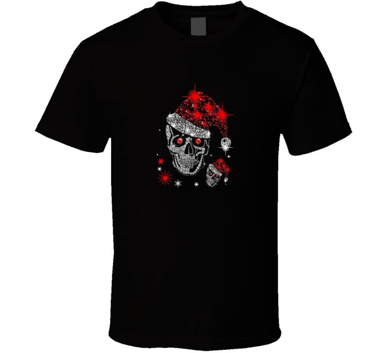 Skull Diamond Christmas [tb] T Shirt