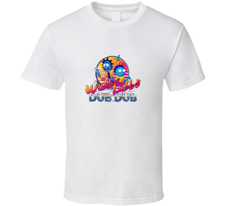 Rick And Morty Neon Dub Dub T Shirt