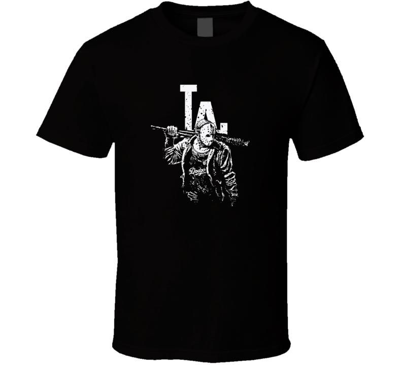 La Dodgers Michael Myers Killin Halloween  T Shirt