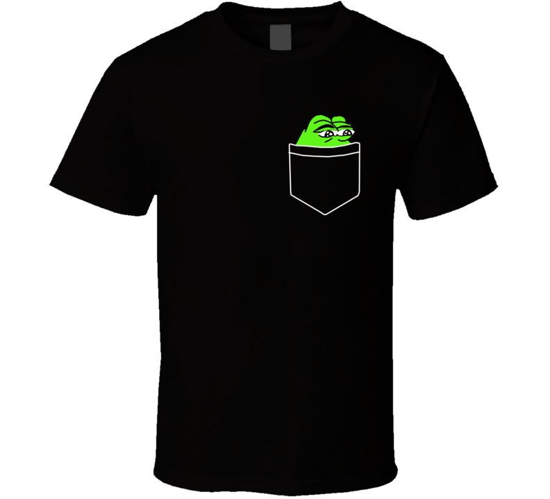 Pepe Frog Pocket  T Shirt