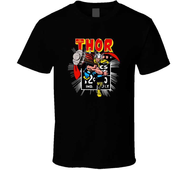 Thor Retro Comic  T Shirt