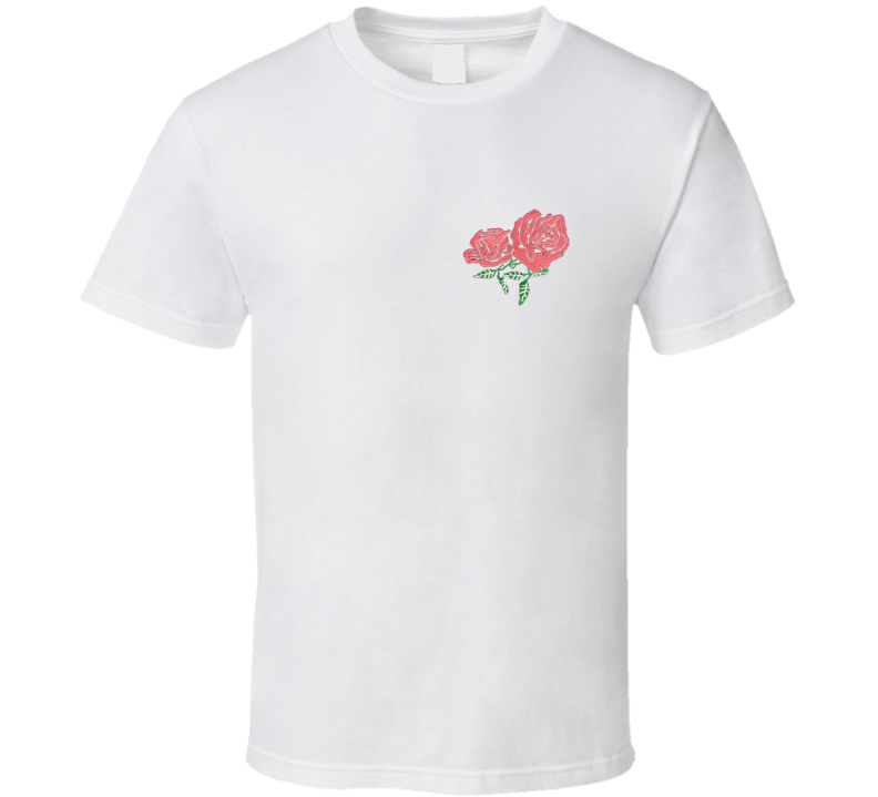 Twin red Rose T Shirt