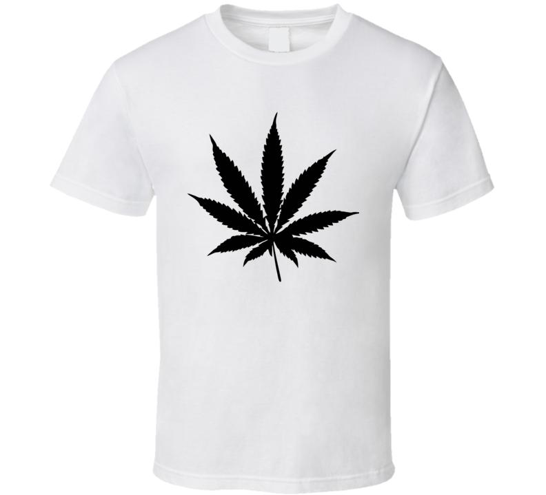 Marijuana Cannabis Leaf  T Shirt