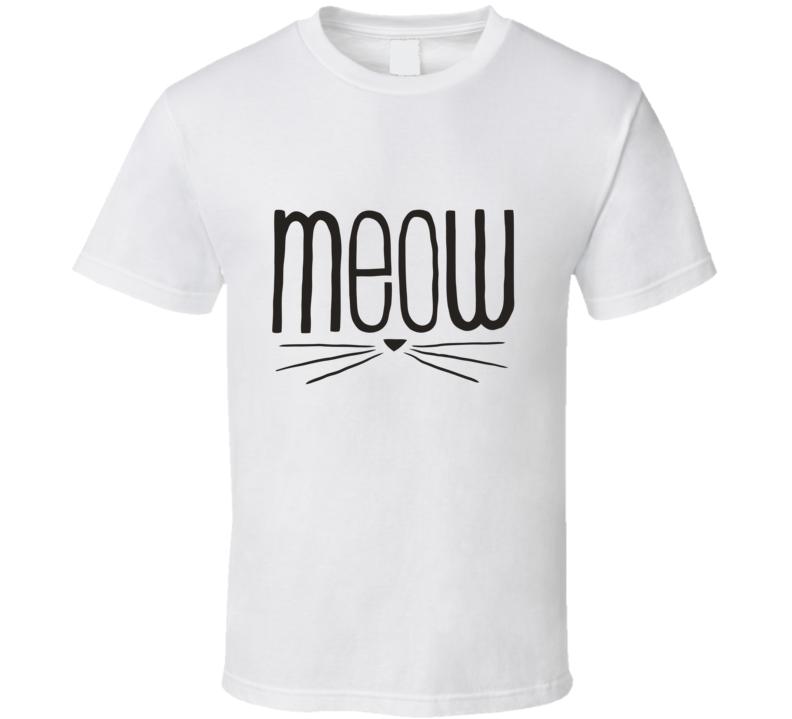 Meow Cute  T Shirt