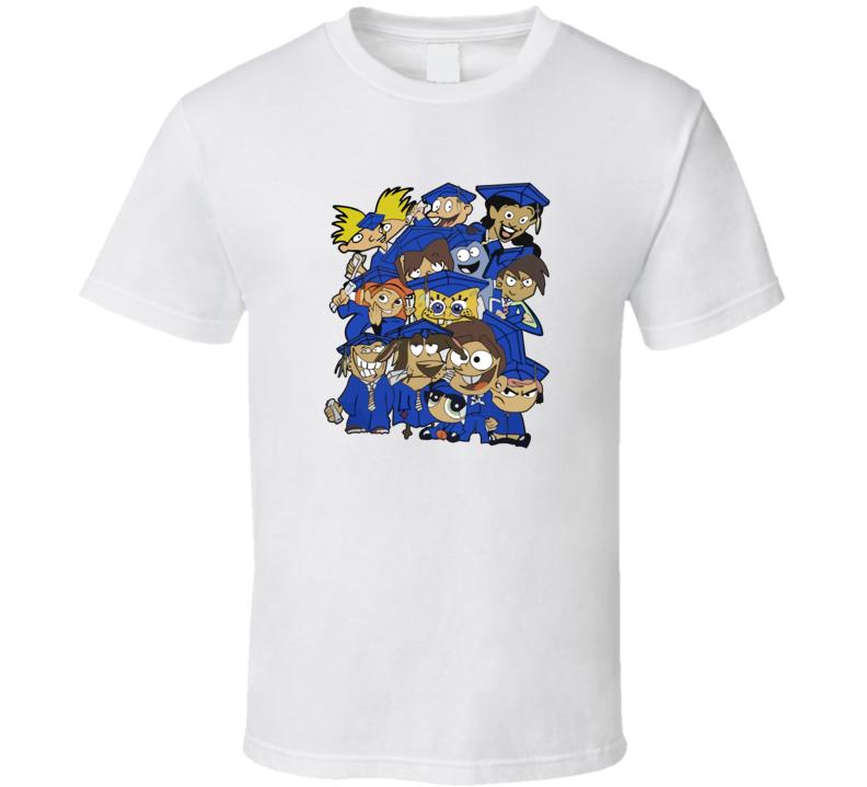 nickelodeon characters spongebob T Shirt