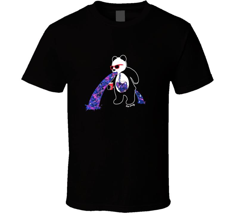 Riot Society Panda Puke T Shirt