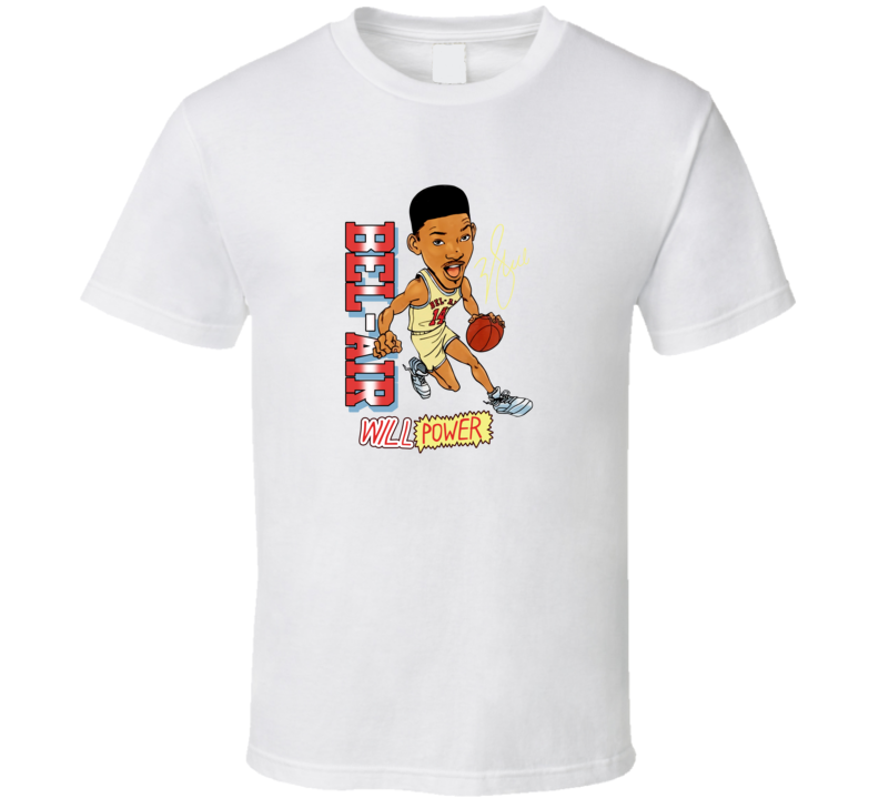 Fresh Prince Of Bel Air Will Power  T Shirt