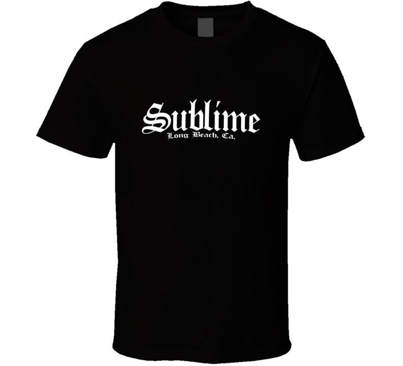 Sublime Long Beach 02  T Shirt