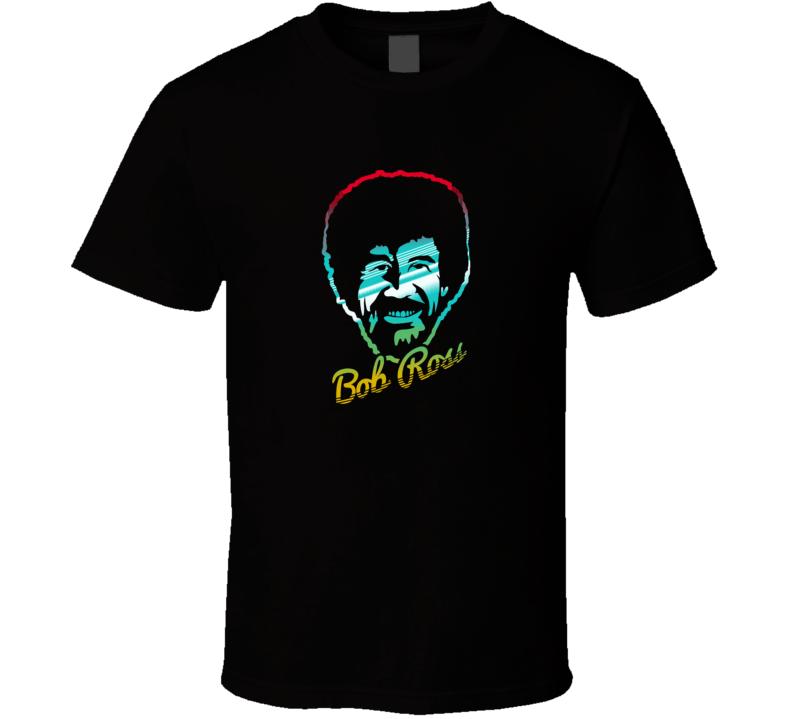 Bob Ross Face Paint T Shirt