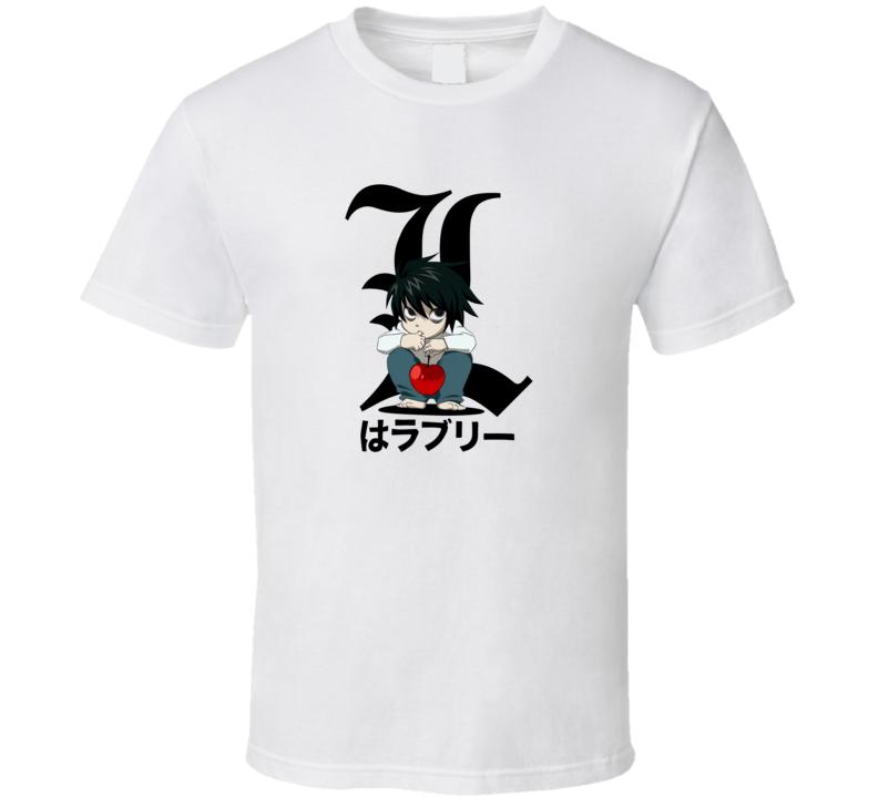 Death Note Chibi L T Shirt