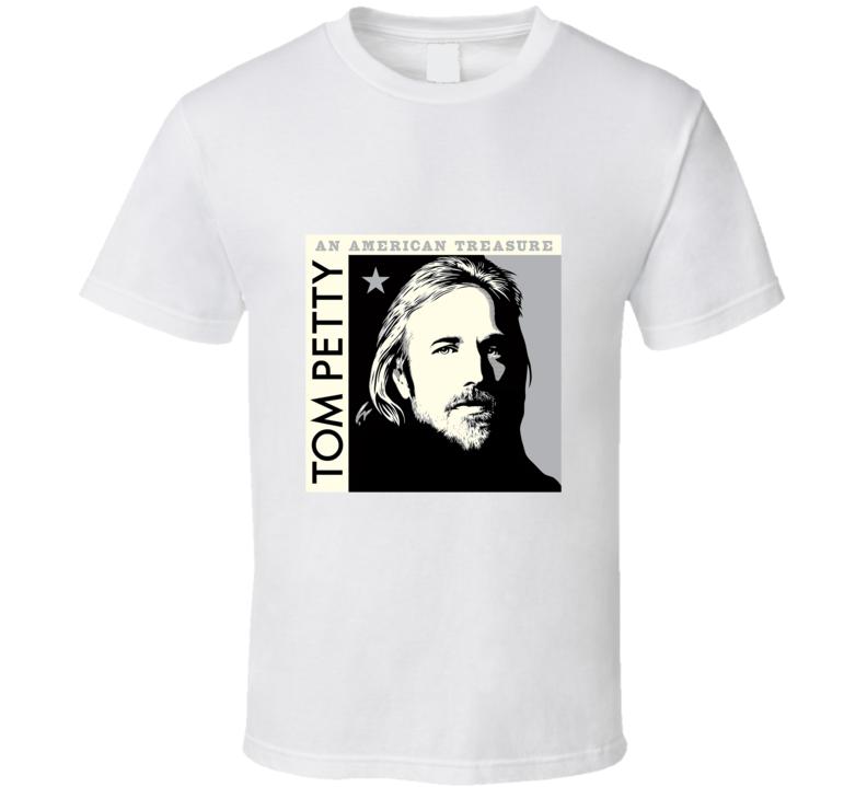 Tom Petty An American Treasure T Shirt