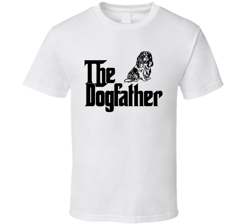 The DogFather 02 Funny Design Men's and Ladies T-Shirt, Hooded Pullover, Apron, V-Neck, Tanktop etc. for suitable Color and All Size Available