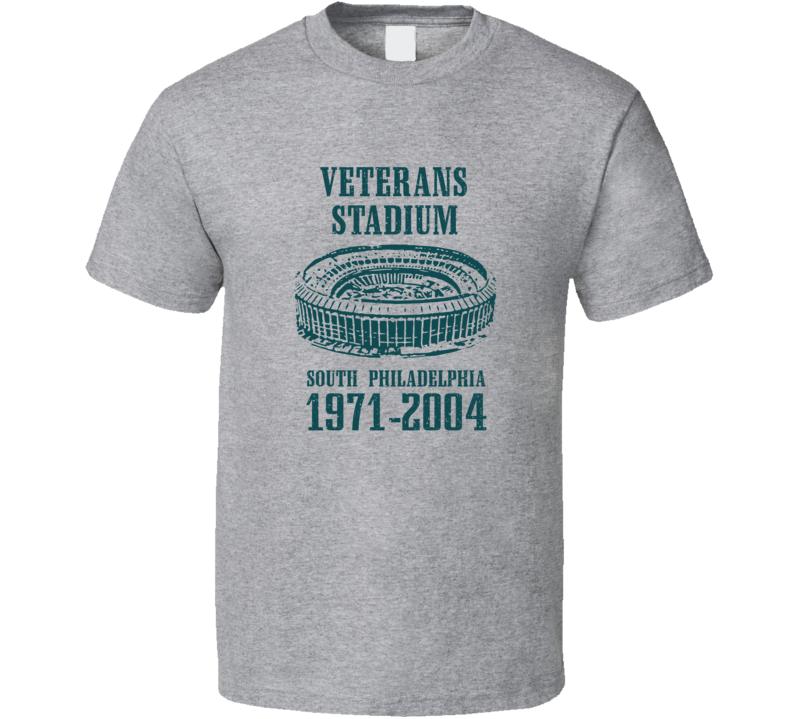 Veterans Stadium South Philadelphia Memorial T Shirt