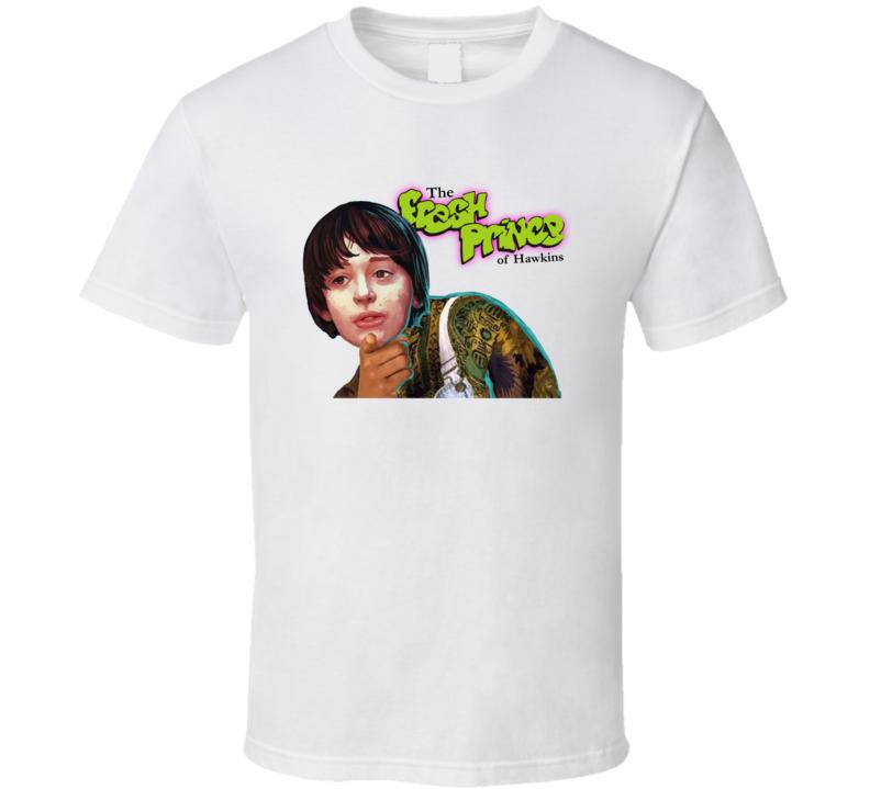 Cool Funny Fresh Prince Of Hawkins Stranger Things T Shirt