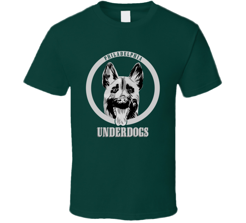 Cool Funny Underdogs Logo Philadelphia Football T Shirt