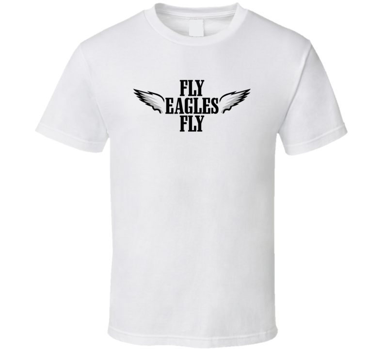 Cool Wings Fly Fly Philadelphia Football T Shirt