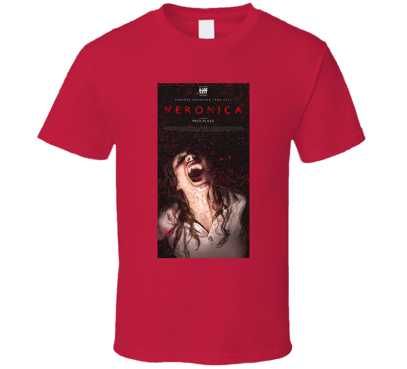 Veronica Distressed Horror Movie Poster T Shirt