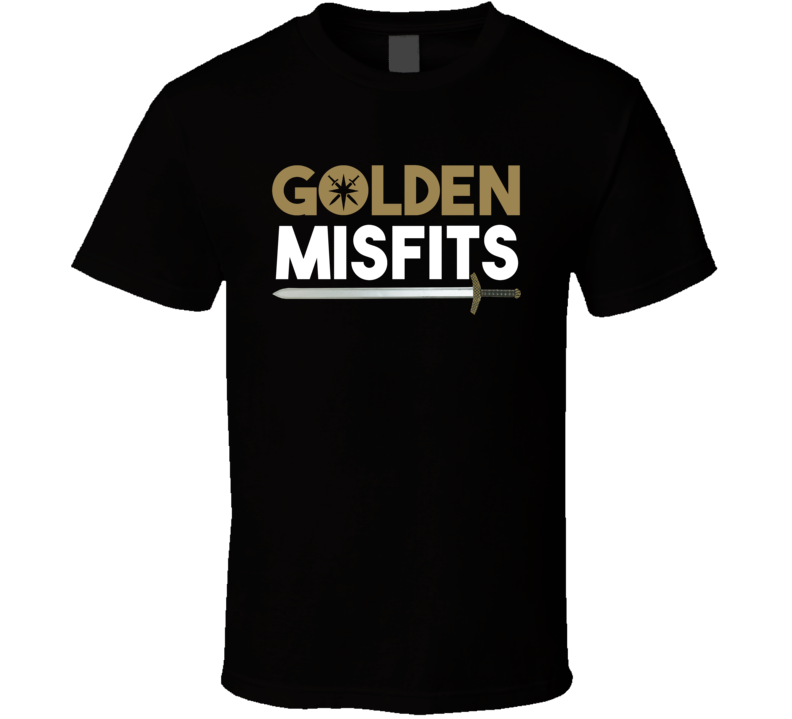 Golden Misfits Vegas Hockey Sports Cool T Shirt