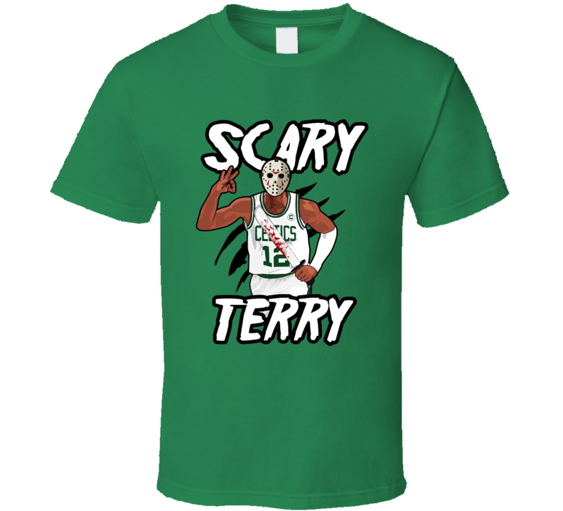 Scary Terry Terry Rozier Boston Basketball Funny Cool T Shirt