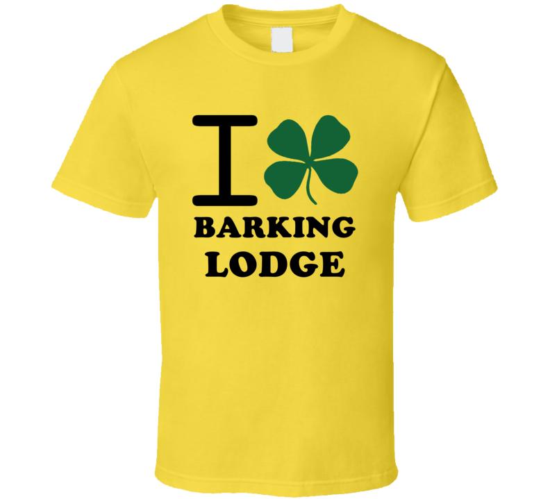 I Irish Clover Barking Lodge Jamaica Heart Love T Shirt