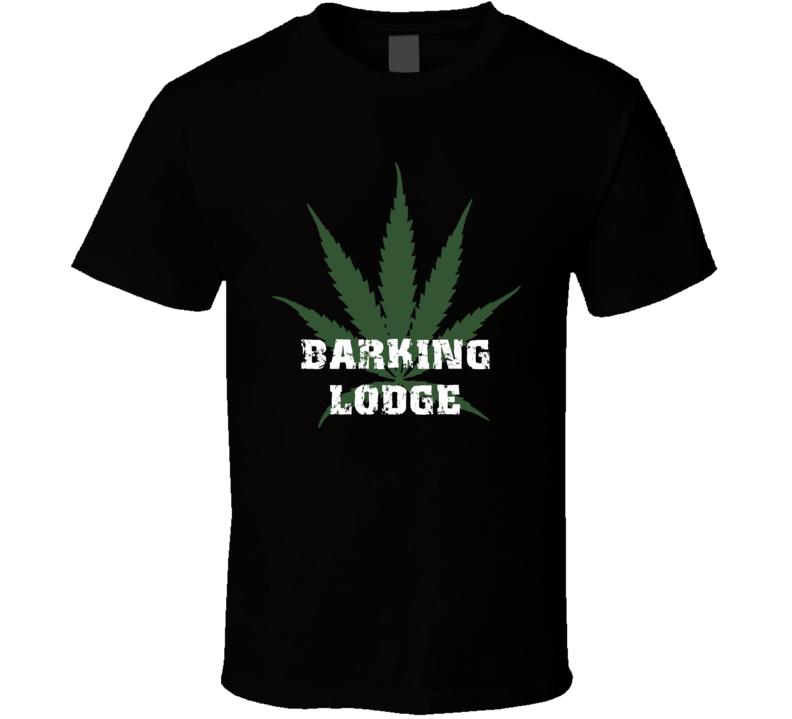 Barking Lodge Jamaica Cool Marijuana Weed T Shirt