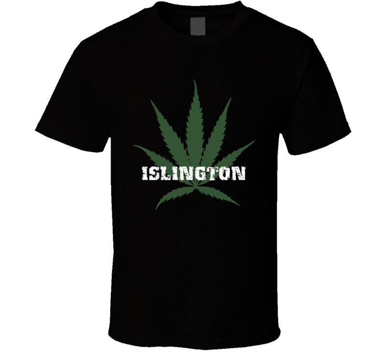 Islington Jamaica Cool Marijuana Weed T Shirt