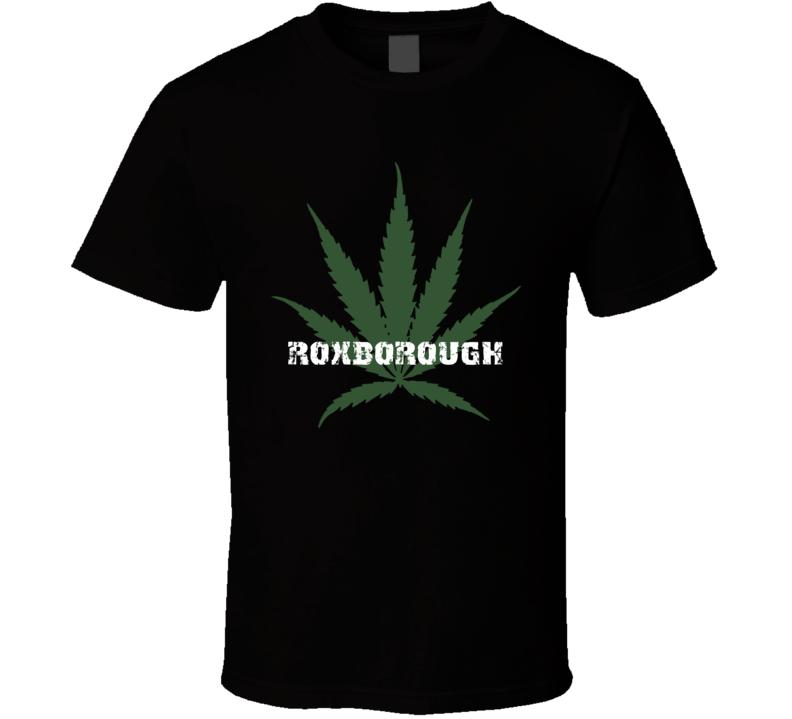 Roxborough Jamaica Cool Marijuana Weed T Shirt
