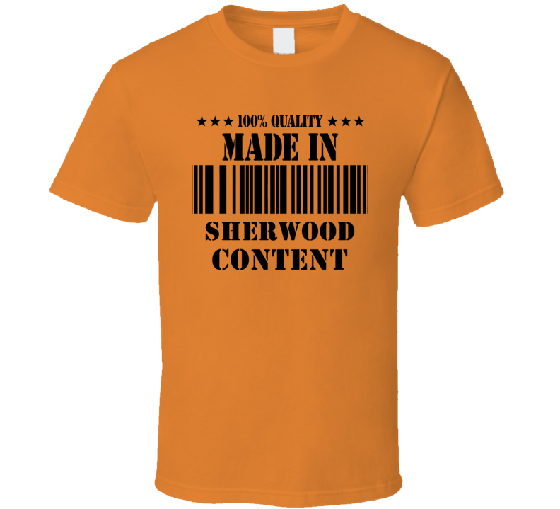 Made In Sherwood Content Jamaica Cool City T Shirt