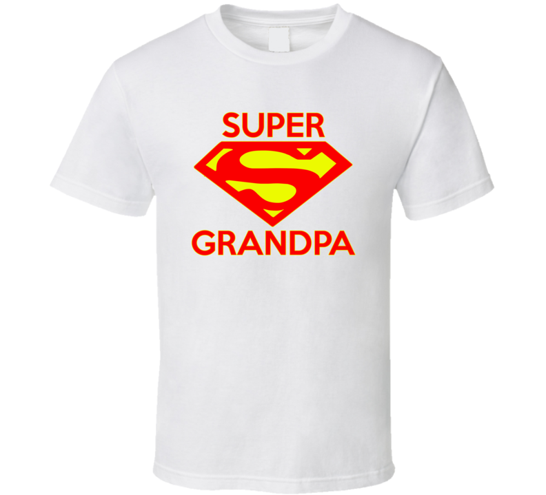 Super Grandpa T Shirt