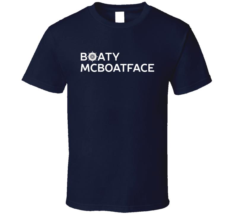 Boaty McBoatface T shirt