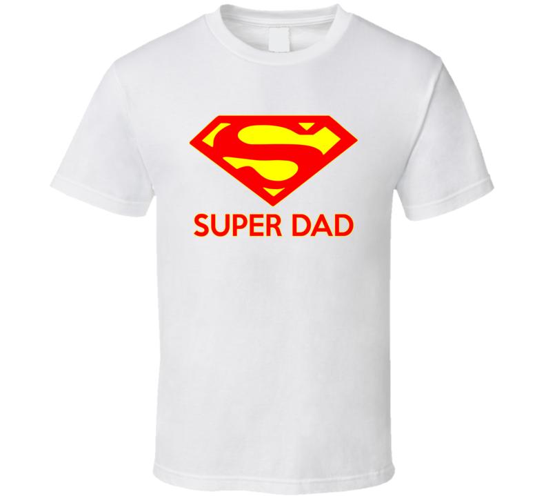 Super DAD Bottom T shirt