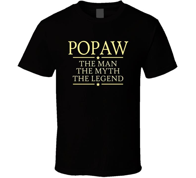 Popaw man myth legend t shirt