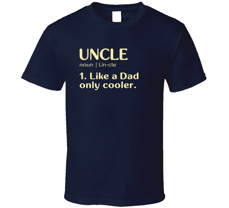 Uncle Dictionary T Shirt