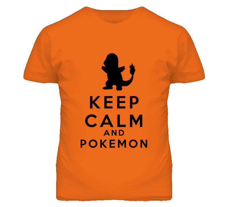Keep Calm and Pokemon T Shirt