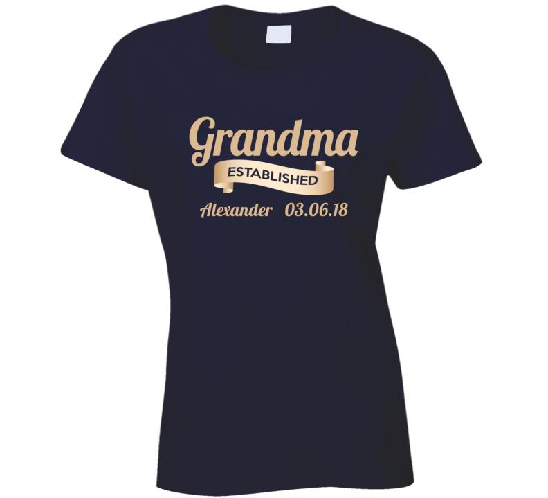 Grandma For Sue T Shirt