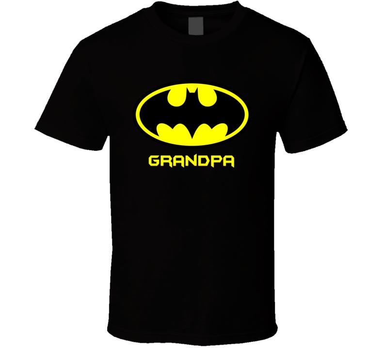 Grandpa Batman T Shirt