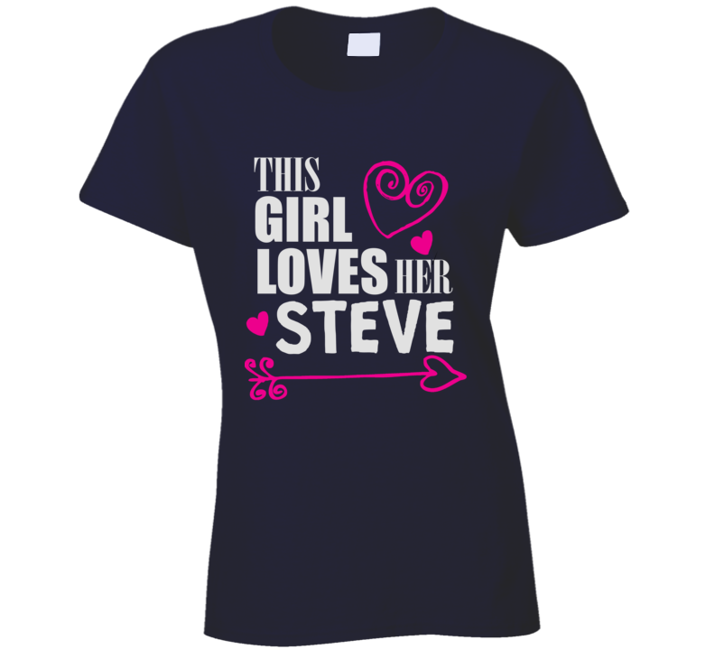 This Girl Loves Her Any Name Custom Name T Shirt