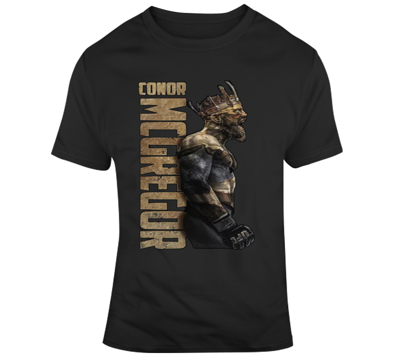 Conor Mcgregor Gold King T Shirt