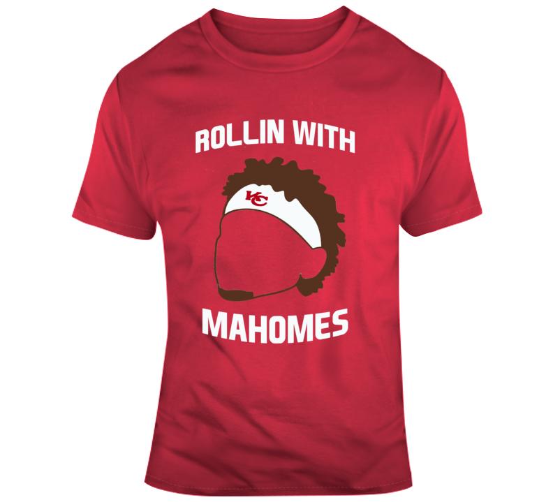 Rollin With Mahomes Patrick Mahomes Kansas City Chiefs T Shirt