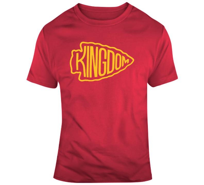 Kansas City Chiefs Kingdom  T Shirt